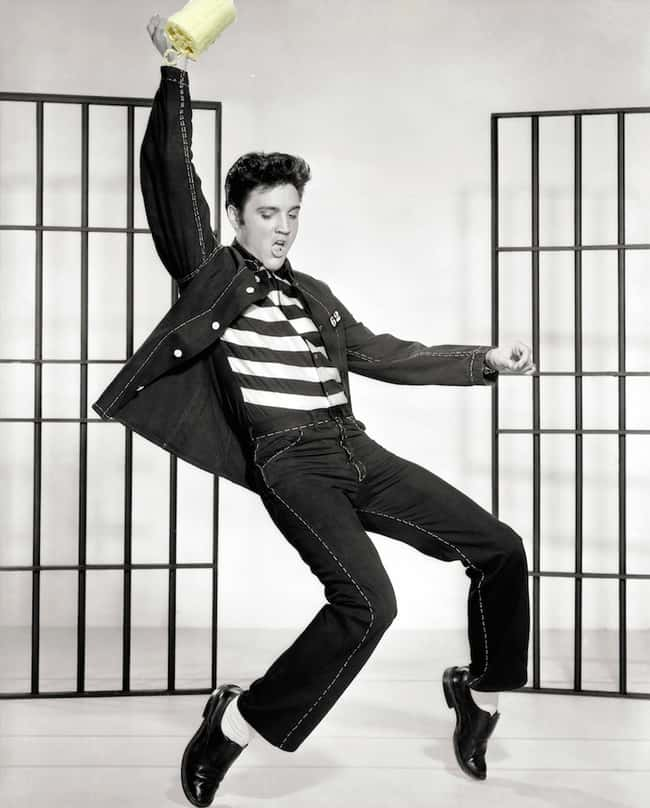 Elvis Presley is listed (or ranked) 8 on the list 24 Extremely Peculiar Personal Quirks that Historic Musicians Had