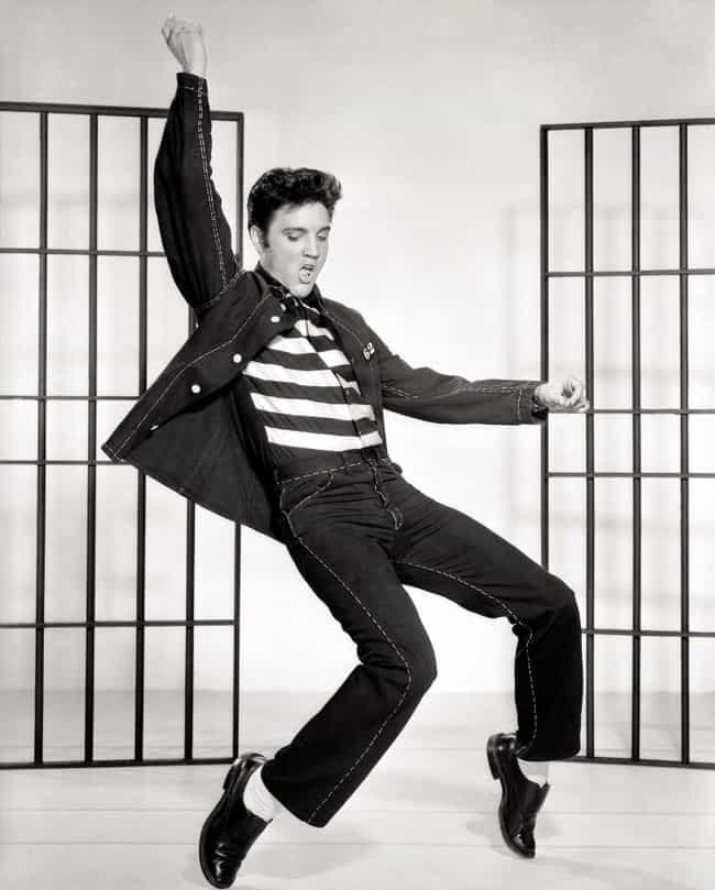 Elvis Presley is listed (or ranked) 4 on the list Famous People Who Stutter