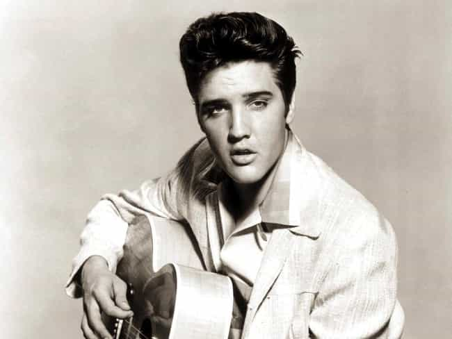 Elvis Presley is listed (or ranked) 4 on the list 21 of the Most Introverted Rock Stars
