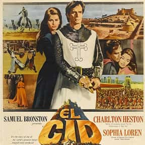 El Cid is listed (or ranked) 20 on the list The Best Medieval Movies