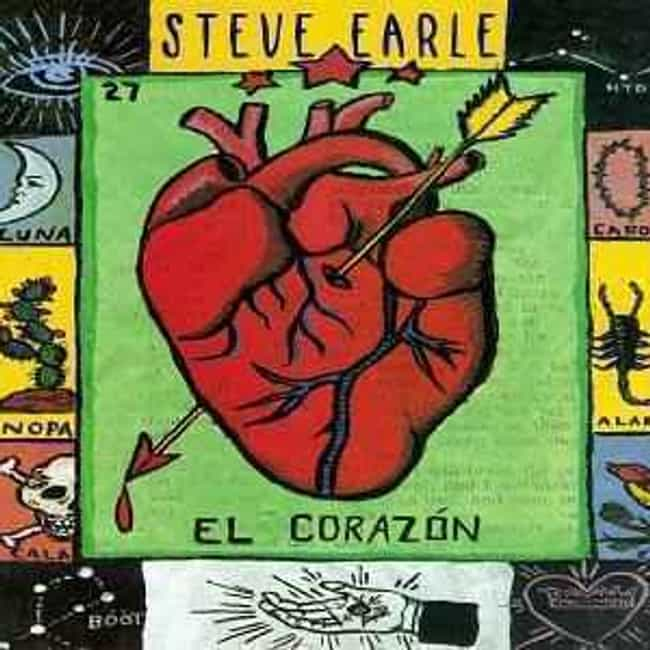 El Corazón is listed (or ranked) 4 on the list The Best Steve Earle Albums of All Time