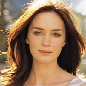 Emily Blunt is listed (or ranked) 8 on the list Natural Beauties Who Don't Need No Make-Up