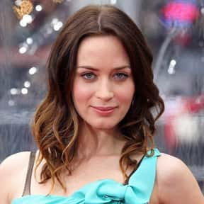 Emily Blunt is listed (or ranked) 9 on the list Famous People Named Emily