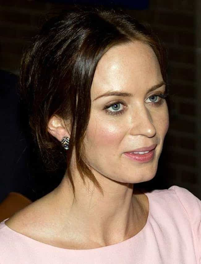 Emily Blunt is listed (or ranked) 1 on the list These Surprising Celebrities Still Sneak In Drags Of Cigarettes