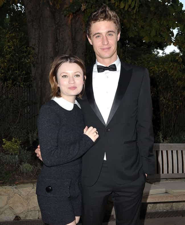 Emily Browning is listed (or ranked) 3 on the list Max Irons Loves and Hookups