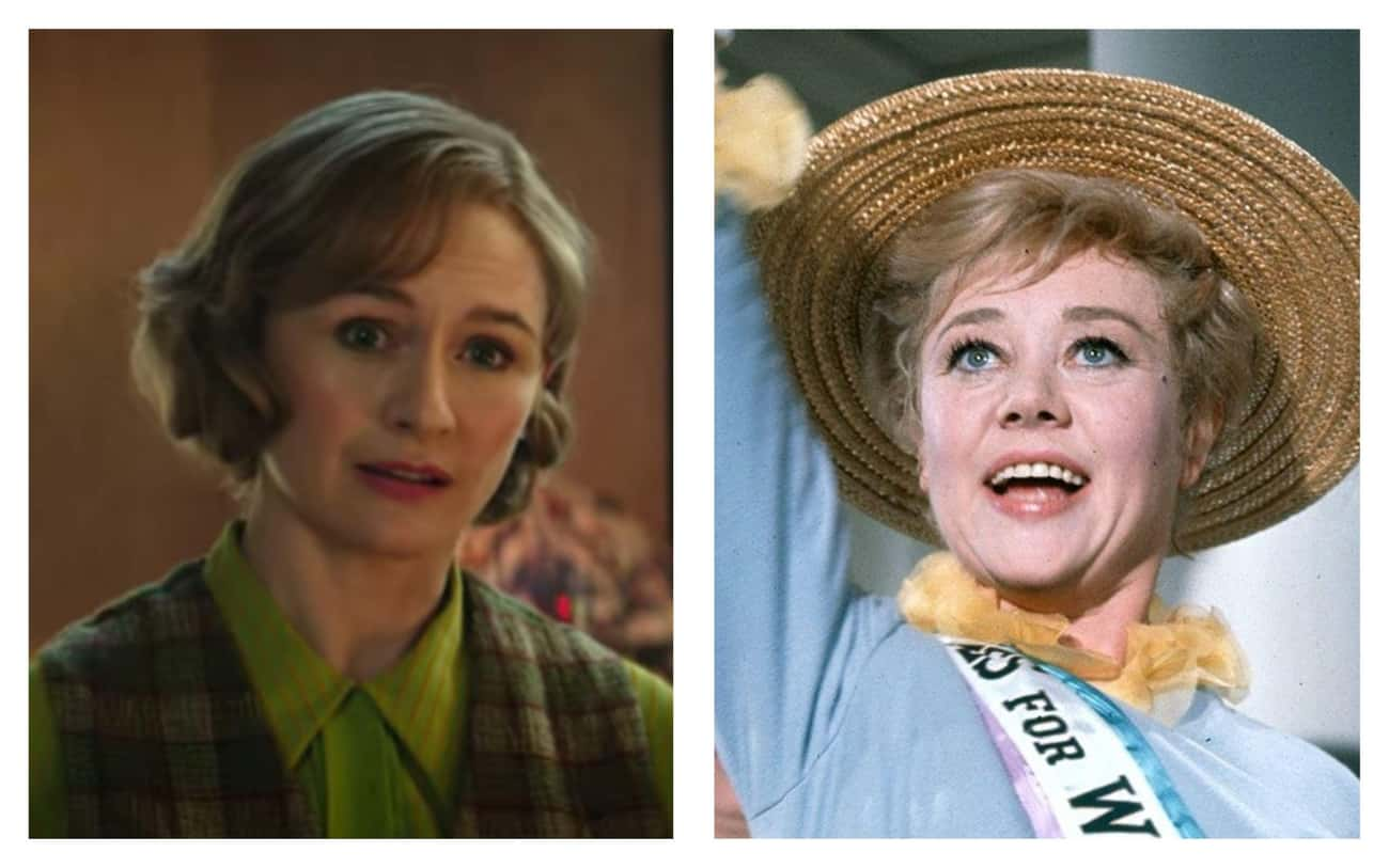 Emily Mortimer As Jane Banks,  is listed (or ranked) 4 on the list All The Actors In 'Mary Poppins' Vs. Their Counterparts In 'Mary Poppins Returns'