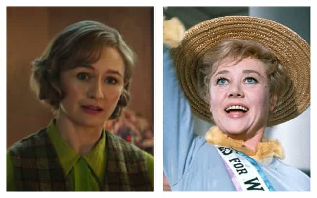Emily Mortimer is listed (or ranked) 4 on the list All The Actors In 'Mary Poppins' Vs. Their Counterparts In 'Mary Poppins Returns'
