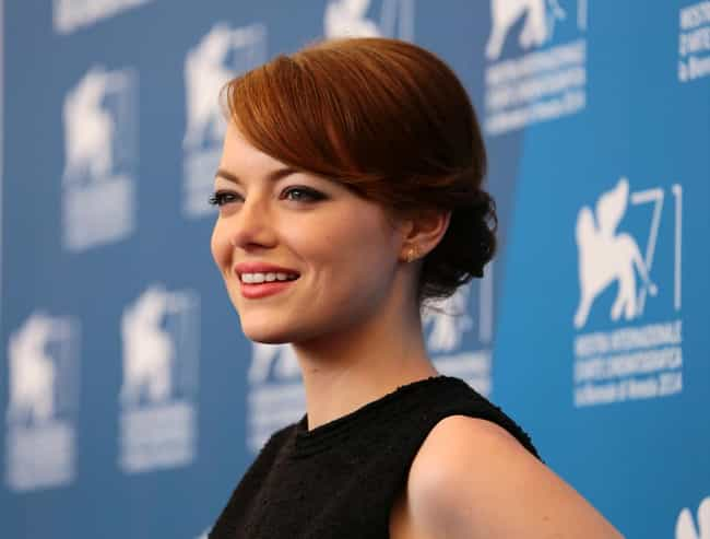 Emma Stone is listed (or ranked) 1 on the list 34 Famous ENFJs
