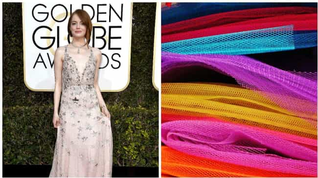 Emma Stone is listed (or ranked) 8 on the list People Who Looked Like Things at the 2017 Golden Globes