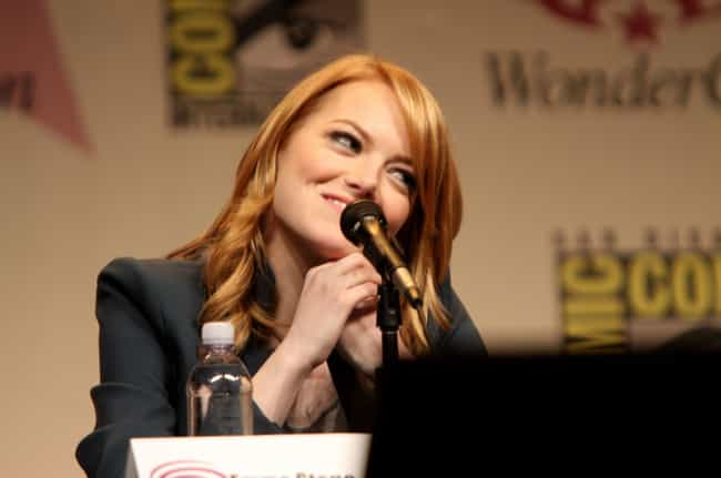 Emma Stone is listed (or ranked) 5 on the list Celebrities You Never Realized Are Obsessed With Star Wars