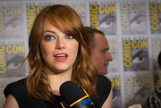 Emma Stone is listed (or ranked) 3 on the list 24 Celebrities Who Have Gorgeous Green Eyes