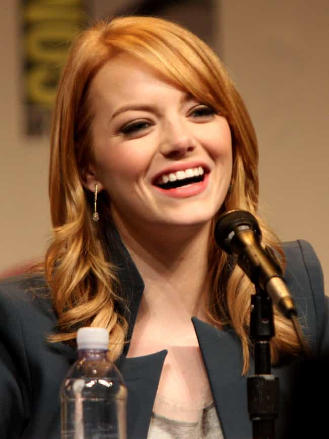 Emma Stone is listed (or ranked) 4 on the list Casting Call for Mary Jane Watson