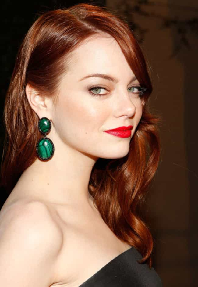Emma Stone is listed (or ranked) 1 on the list The Most Beautiful Redhead Actresses