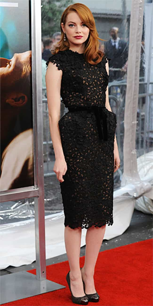 Emma Stone is listed (or ranked) 3 on the list Celebrities in Tom Ford Dresses