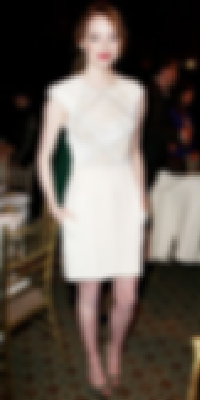 Emma Stone is listed (or ranked) 2 on the list J. Mendel Dressed on Celebrities