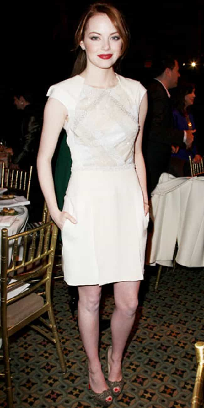 Emma Stone is listed (or ranked) 3 on the list J. Mendel Dressed on Celebrities