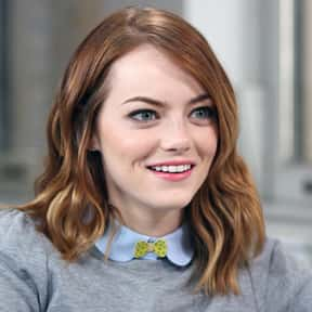 Emma Stone is listed (or ranked) 1 on the list Who Was America's Girlfriend in 2015?