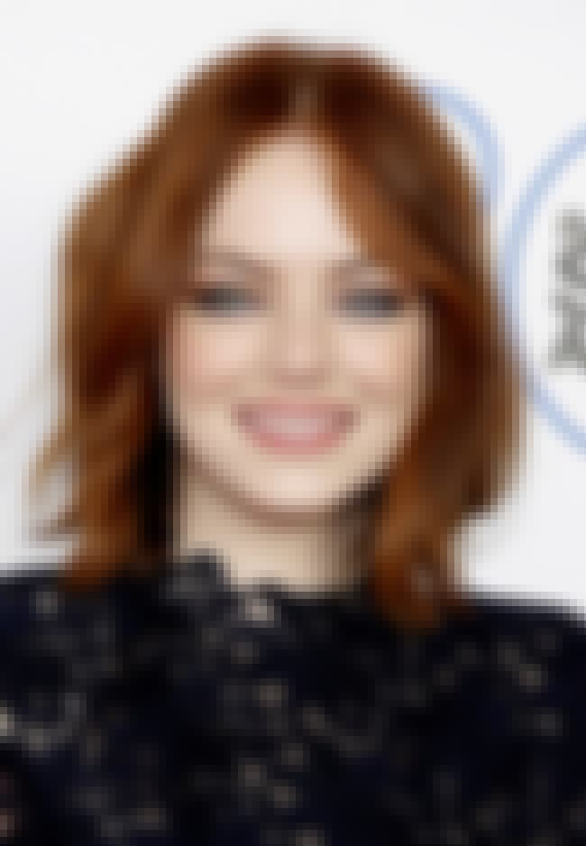 Emma Stone is listed (or ranked) 3 on the list 50+ Celebrities Who Love To Cook