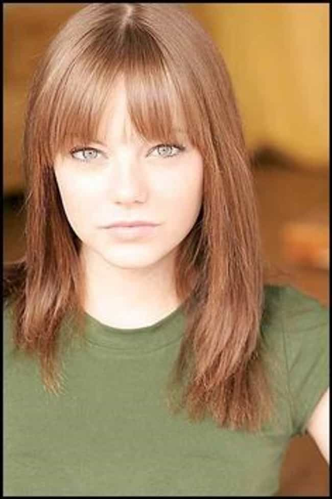 Emma Stone is listed (or ranked) 5 on the list The Most Epic Celebrity Headshots (Before They Were Famous)