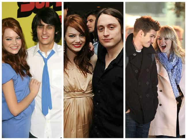 Emma Stone is listed (or ranked) 4 on the list Celebrities Who Frequently Date Their Co-Stars