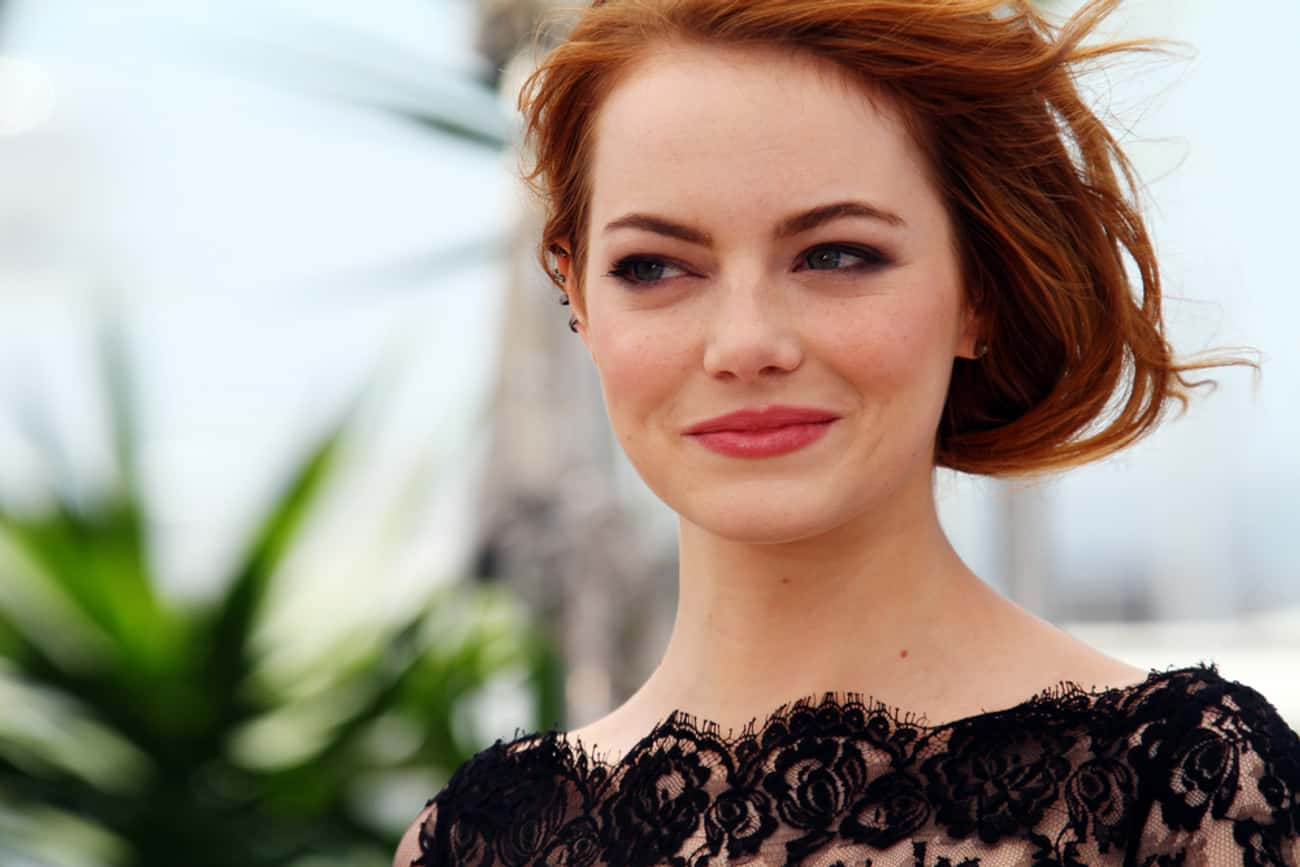 Emma Stone is listed (or ranked) 2 on the list Celebrities You'd Like to Spend Decades on a Spaceship With