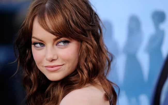 Emma Stone is listed (or ranked) 2 on the list The Most Captivating Celebrity Eyes (Women)