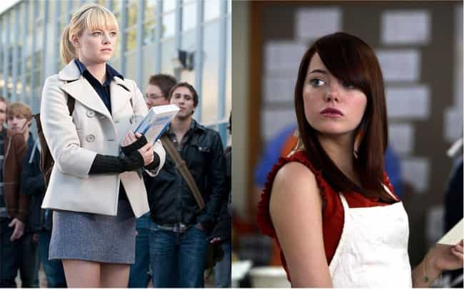 Emma Stone is listed (or ranked) 3 on the list Female Celebrities Whose Careers Took Off After They Dyed Their Hair