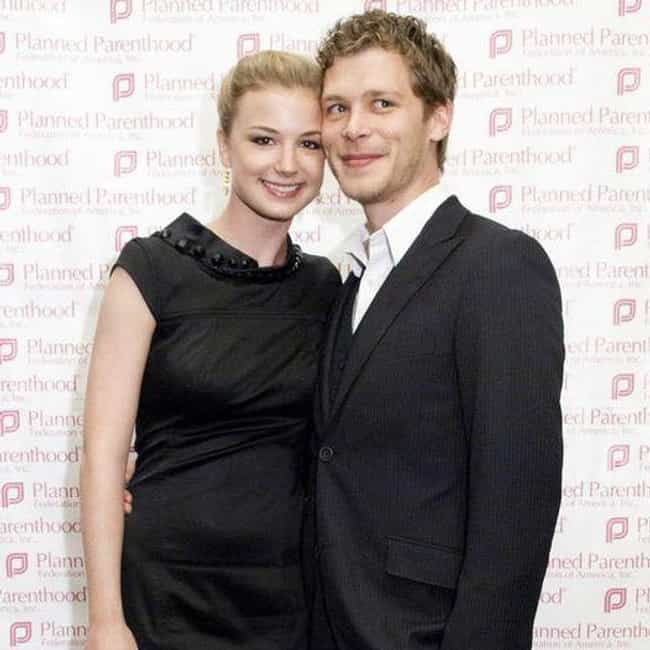 Emily VanCamp is listed (or ranked) 3 on the list Joseph Morgan Loves and Hookups