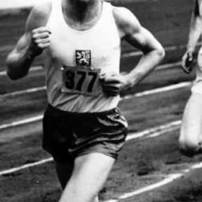 Emil Zátopek is listed (or ranked) 24 on the list The Best Athletes Of All Time