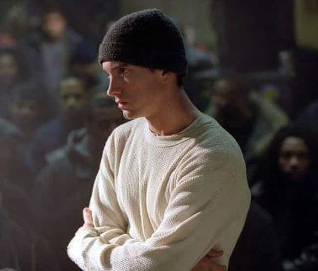 Eminem is listed (or ranked) 3 on the list 14 Rappers Who Have Won Awards for Acting