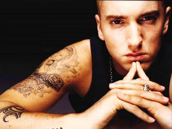 Eminem is listed (or ranked) 1 on the list Formerly Anti-Gay Celebs Who Switched Sides