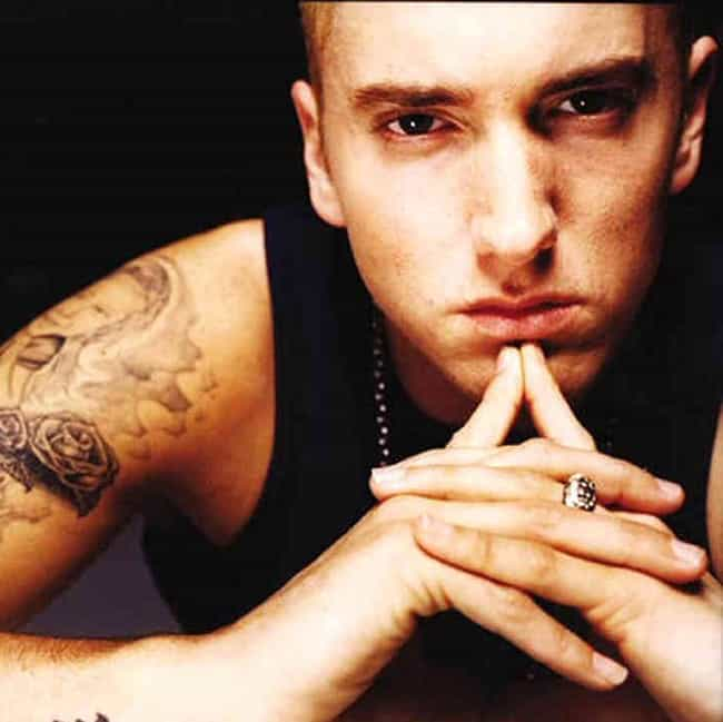 Eminem is listed (or ranked) 1 on the list Sober Rappers Who Don't Drink or Do Drugs
