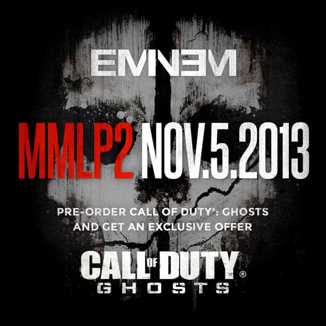 Eminem is listed (or ranked) 4 on the list 15 Celebrities Who Play Call of Duty