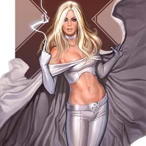 Emma Frost is listed (or ranked) 3 on the list Stunning Female Comic Book Characters, Ranked