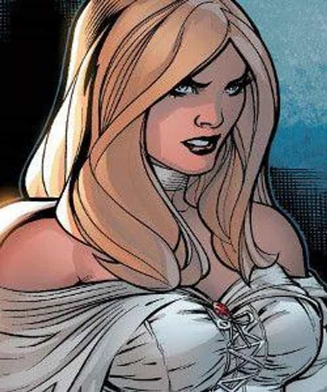 Emma Frost is listed (or ranked) 2 on the list The 20 Most Powerful Telepaths, Ranked