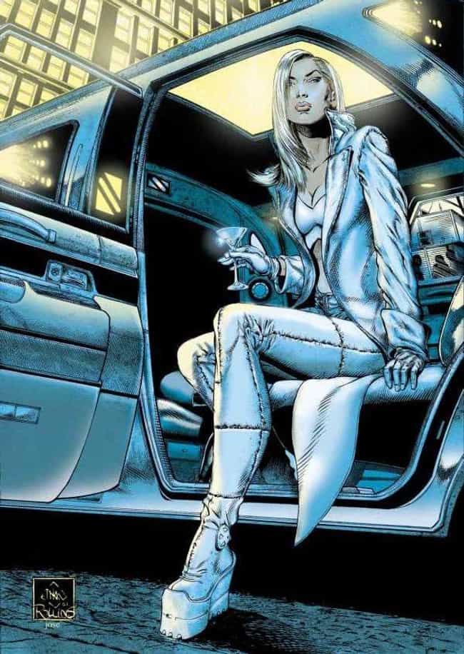 Emma Frost is listed (or ranked) 1 on the list The Most Impractical Footwear Sported By Superheroes