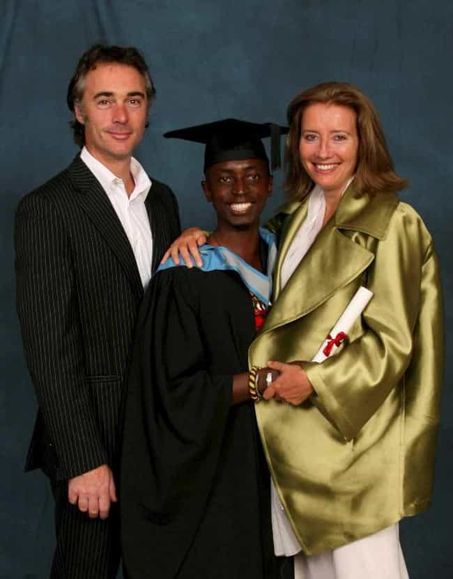 Emma Thompson is listed (or ranked) 4 on the list 8 Celebrities Who Adopted Children from Africa