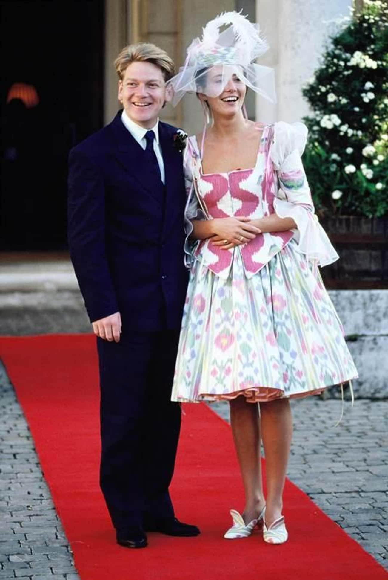 Emma Thompson is listed (or ranked) 3 on the list 24 of the Wackiest Celebrity Wedding Gowns
