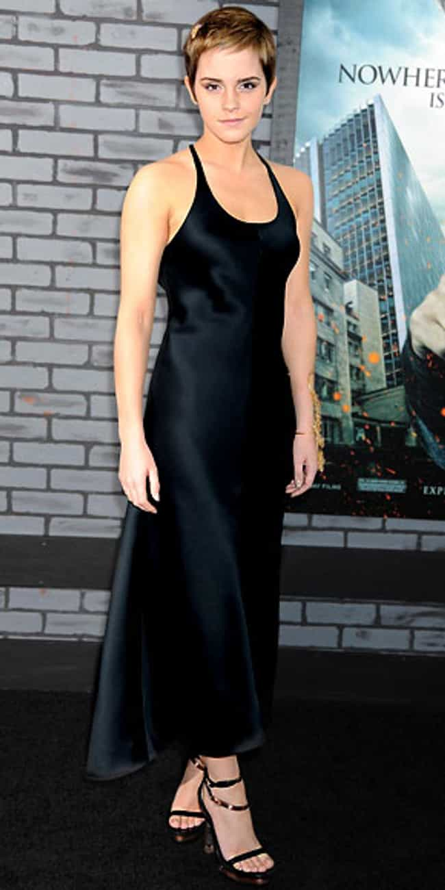 Emma Watson is listed (or ranked) 8 on the list Celebrities in Calvin Klein Dresses