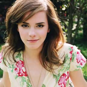 Emma Watson is listed (or ranked) 7 on the list The Most Stunning English Fashion Models