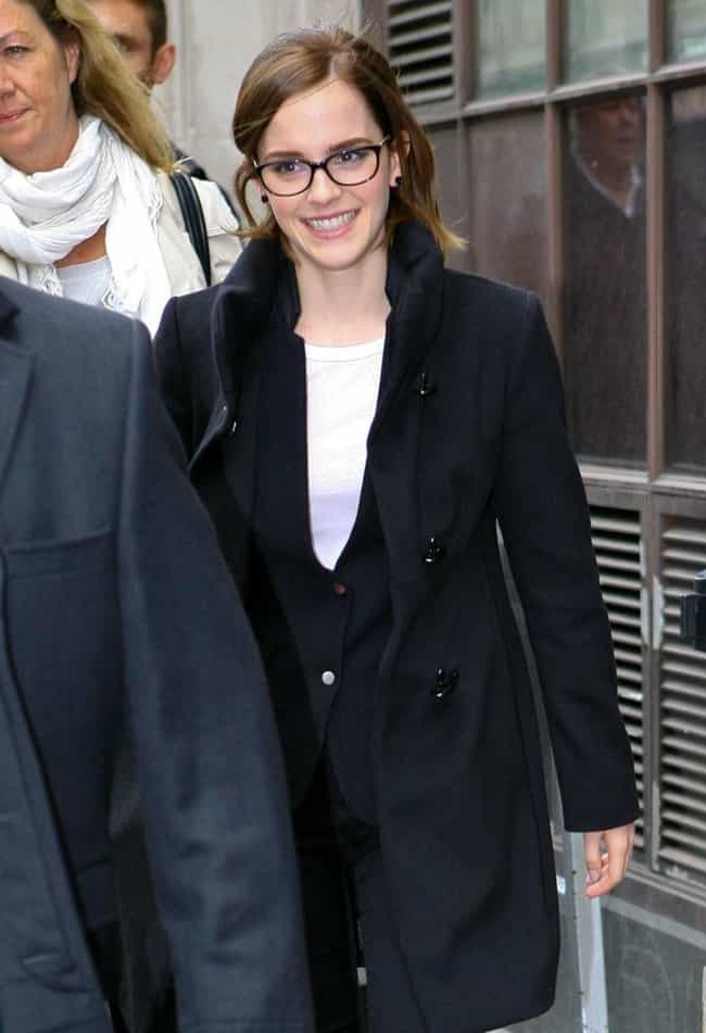Emma Watson is listed (or ranked) 4 on the list The Sexiest Famous Girls Who Wear Glasses