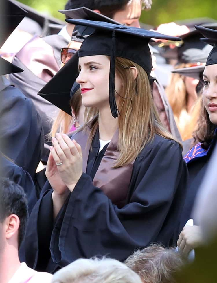 Emma Watson, Busy Learning How to Save the World