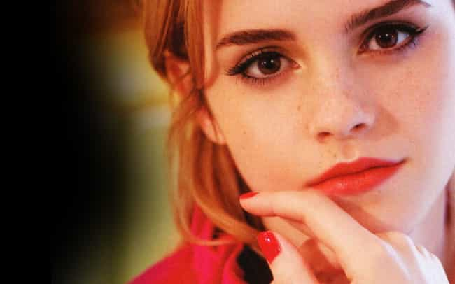 Emma Watson is listed (or ranked) 3 on the list Beautiful Celebrity Girls with Adorable Freckles