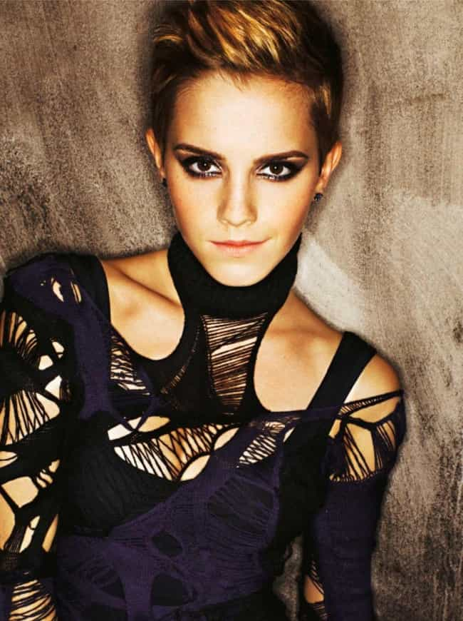 Emma Watson is listed (or ranked) 3 on the list Celeb Women Who Can Totally Pull Off Short Hair