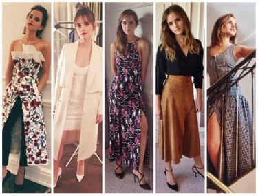 Emma Watson is listed (or ranked) 2 on the list The Most Stylish Female Celebrities