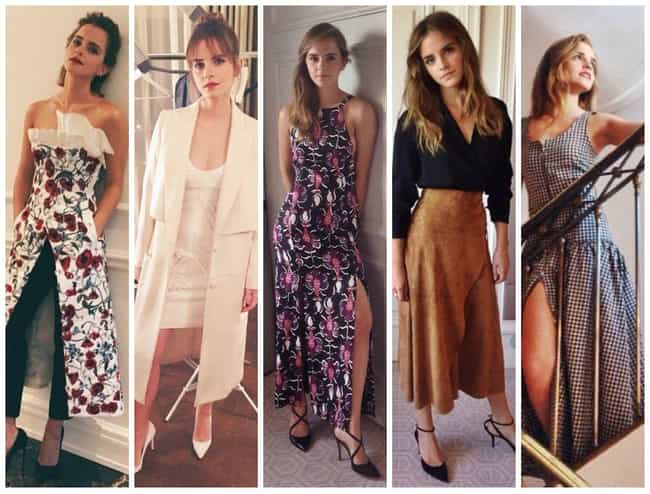 Emma Watson is listed (or ranked) 1 on the list The Most Stylish Female Celebrities