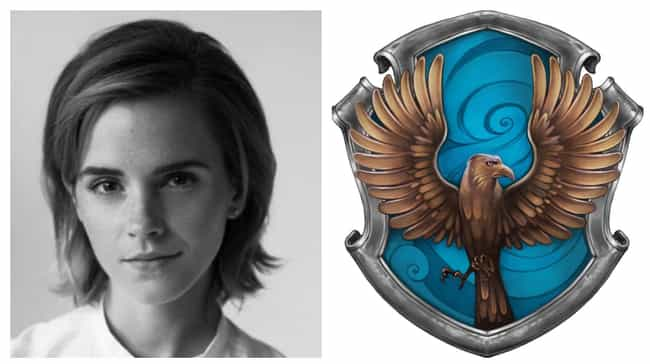 Emma Watson is listed (or ranked) 2 on the list Which Hogwarts Houses Would Celebrities Be Sorted Into?
