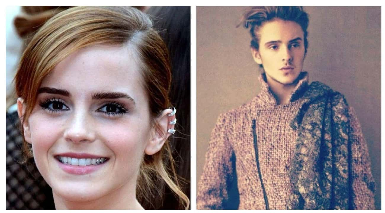 Emma Watson And Alex Watson is listed (or ranked) 2 on the list Side-By-Side Photos Of Celebrities And Their Siblings You've Never Seen Before