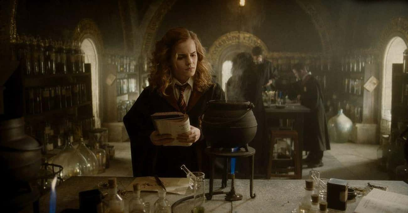 Emma Watson Considers Herself  is listed (or ranked) 2 on the list What The 'Harry Potter' Cast Thinks Of The Franchise