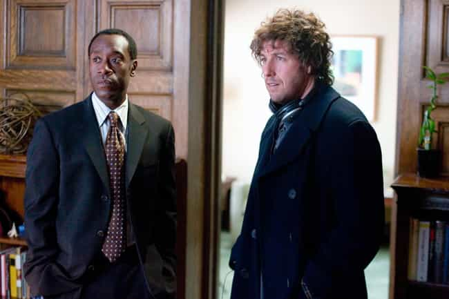 Reign Over Me is listed (or ranked) 3 on the list A History Of Adam Sandler's Occasional Detours Into Serious Movies
